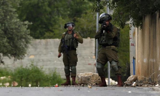 الاحتلال يقمع مسيرة كفر قدوم بالرصاص المطاطي والغاز المسيل للدموع