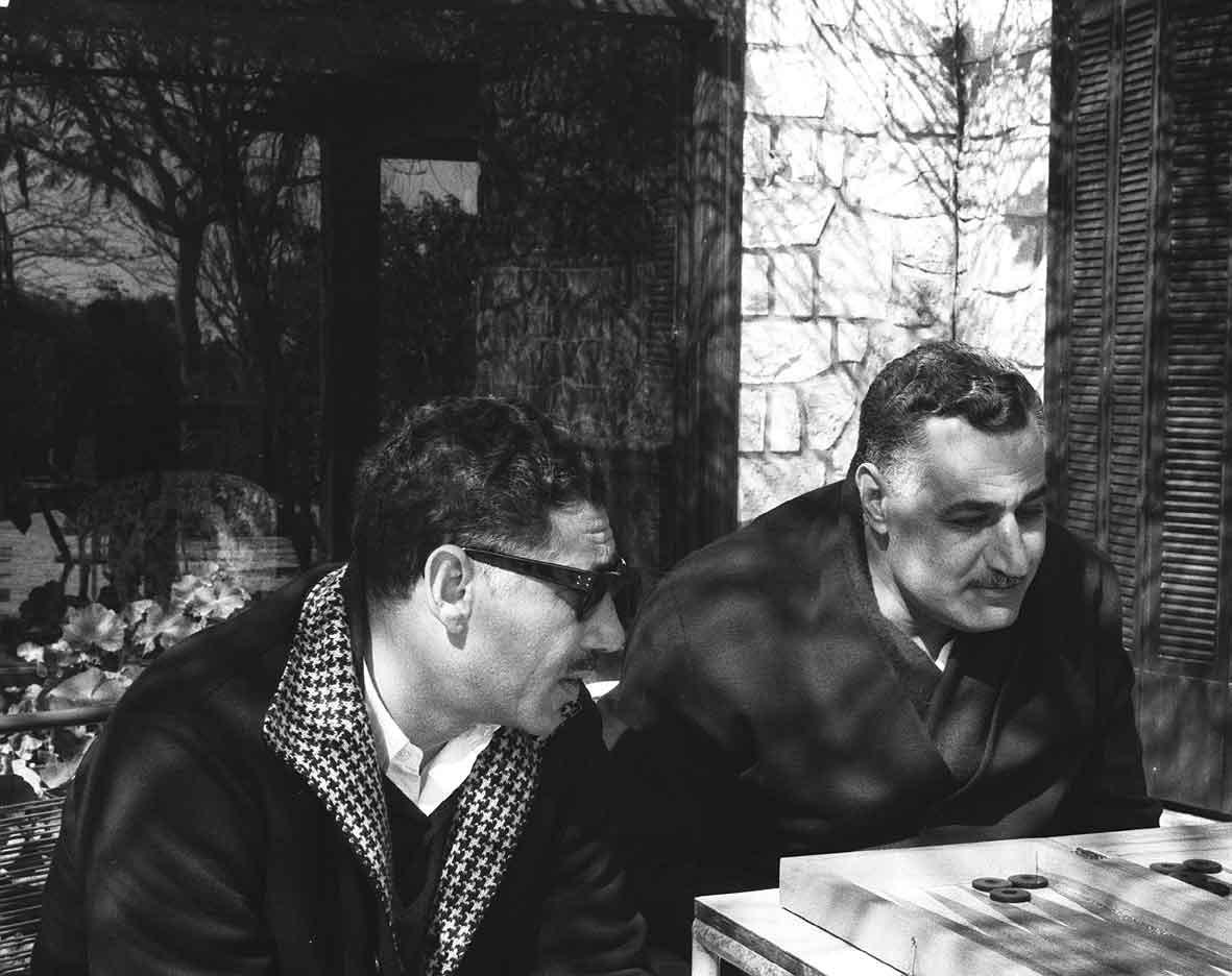 عامر وعبد الناصر (موقع عبد الناصر التابع لجامعة الإسكندرية)