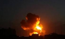 12 قتيلا على الأقل جراء غارات على مواقع إيرانية في سورية
