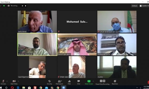 البرلمان العربي يطالب الأمم المتحدة بمنع تنفيذ مخطط الضم