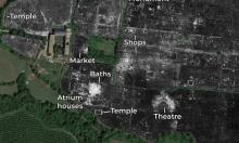 رادار يكشف تفاصيل مدينة رومانية قديمة
