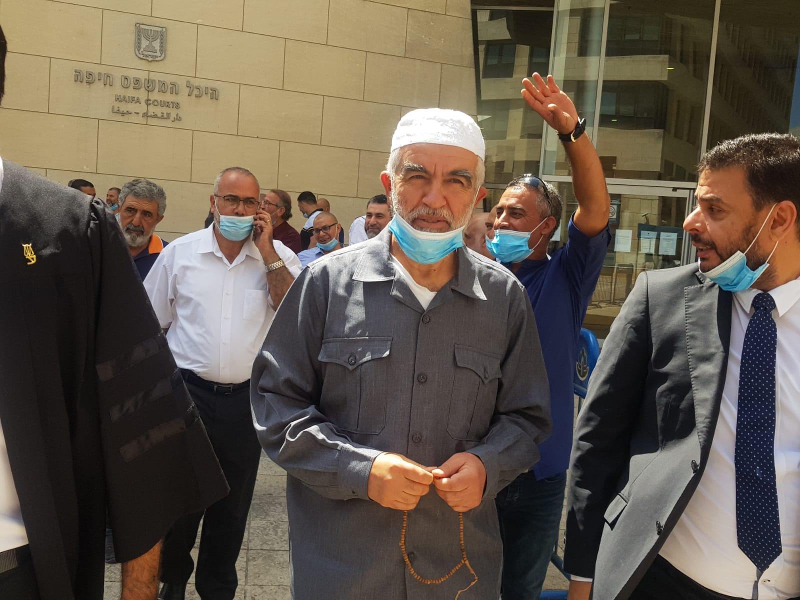 المحكمة تصدر قرارها في استئناف الشيخ رائد صلاح في تموز المقبل