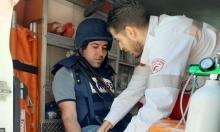إصابات تشمل صحافيين في مسيرتي كفر قدوم ونعلين الأسبوعيتين