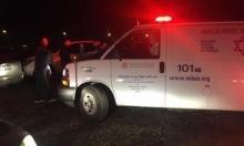 كفر كنا: إصابة خطيرة لشاب في حادث دهس