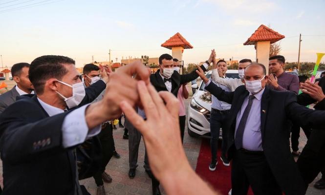رغم كورونا: الأعراس مستمرة في غزة والكمامات إكسسوار جديد