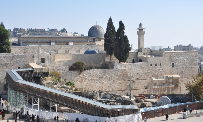 نفق جديد أسفل باب المغاربة وحائط البراق بالأقصى