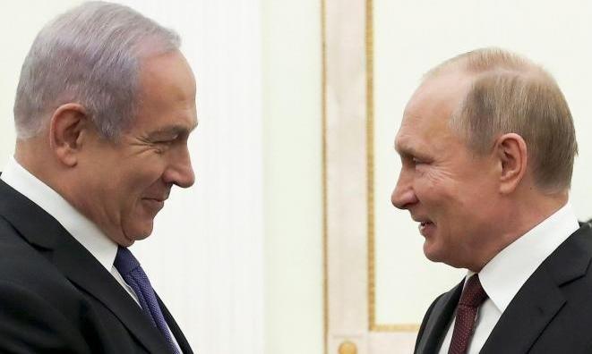 نتنياهو: بوتين أحبط مشروع قرار بمجلس الأمن لإقامة دولة فلسطينية