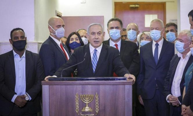 خلافا للاتفاق الائتلافي: نتنياهو يطالب ببقائه برئاسة الحكومة بحال حلها