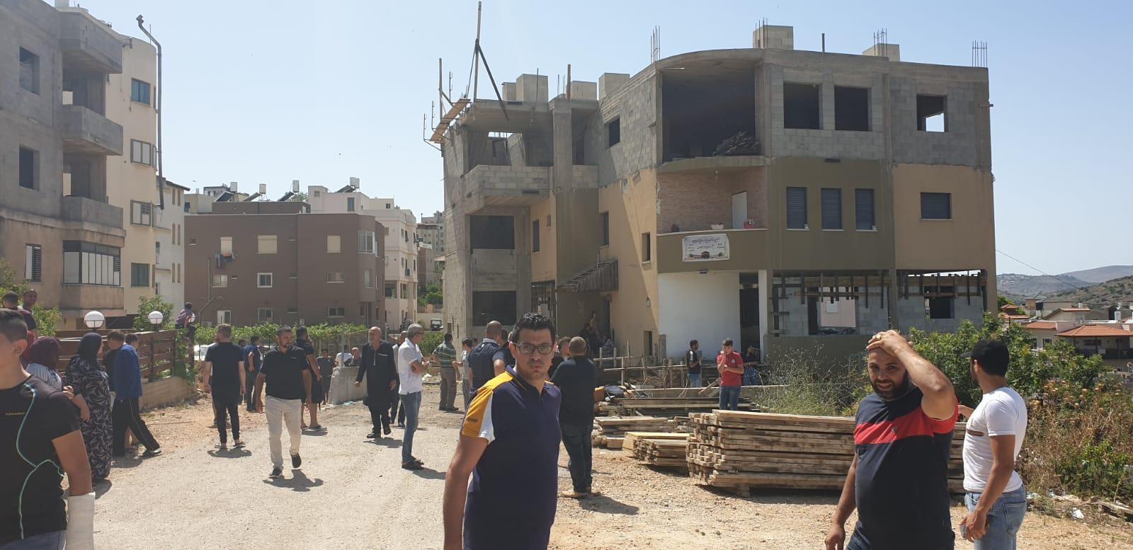 سخنين: مصرع صبحي عثمان وإصابة آخر بحادث عمل