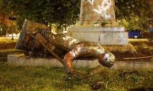 أميركا: المتظاهرون يسقطون تمثالًا آخر يعود للحرب الأهلية