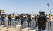 يافا: إصابات واعتقالات رغم قرار وقف تجريف مقبرة الإسعاف