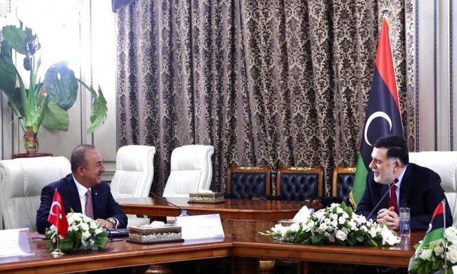 ليبيا: تصاعد التوتر بين أنقرة وباريس ووفد تركي يصل طرابلس