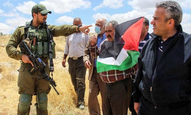 إصابتان بالرصاص الحيّ خلال قمع الاحتلال لمسيرة كفر قدوم