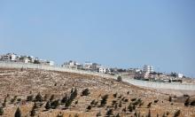 بيت لحم: الاحتلال يشق طريقا استيطانية