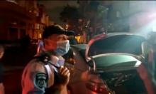 فيديو: جمهور م. تل أبيب يعتدي على محال تجارية في يافا