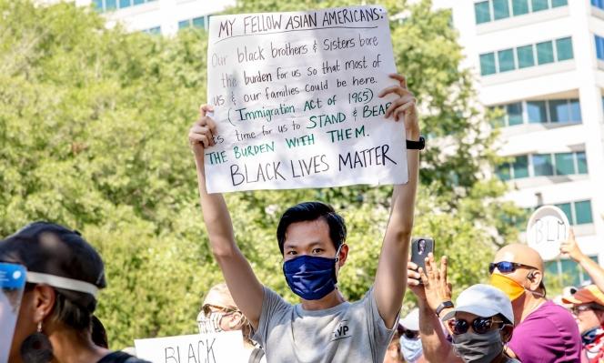 """""""ازدياد التضامن بين الأقليات الأكثر تضررًا من العنصرية في أميركا"""""""