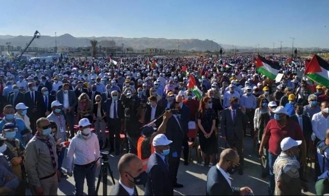 أريحا: مهرجان شعبي رفضا للضمّ والاحتلال يمنع حافلات