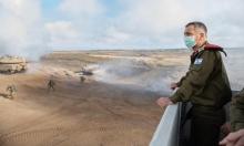 """كوخافي يحذّر من تصعيد في الضفة وغزة """"خلال أسابيع"""""""