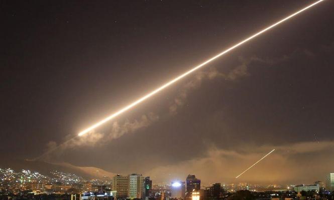 7 قتلى من النظام والقوات الإيرانية بغارات إسرائيلية استهدفت مواقع بسورية