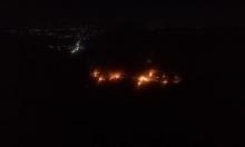 المرصد:  القصف الإسرائيلي استهدف مخازن ذخيرة إيرانية