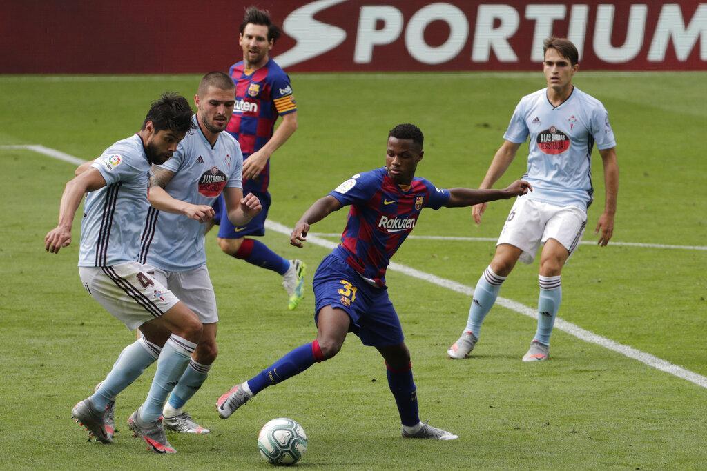 برشلونة يتعثر بتعادله أمام سيلتا فيغو