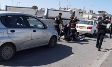 حاجز قلنديا: إطلاق النار على فلسطيني لحيازته سكينا