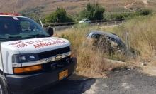 إصابة بالغة الخطورة لفتى بانقلاب سيارة في الشاغور
