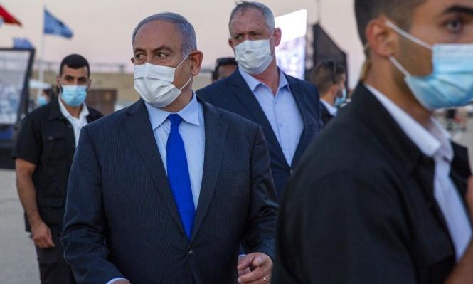 """نتنياهو: """"الضم يدفع بالسلام""""؛ وغانتس يهدد """"حماس"""" ولبنان"""