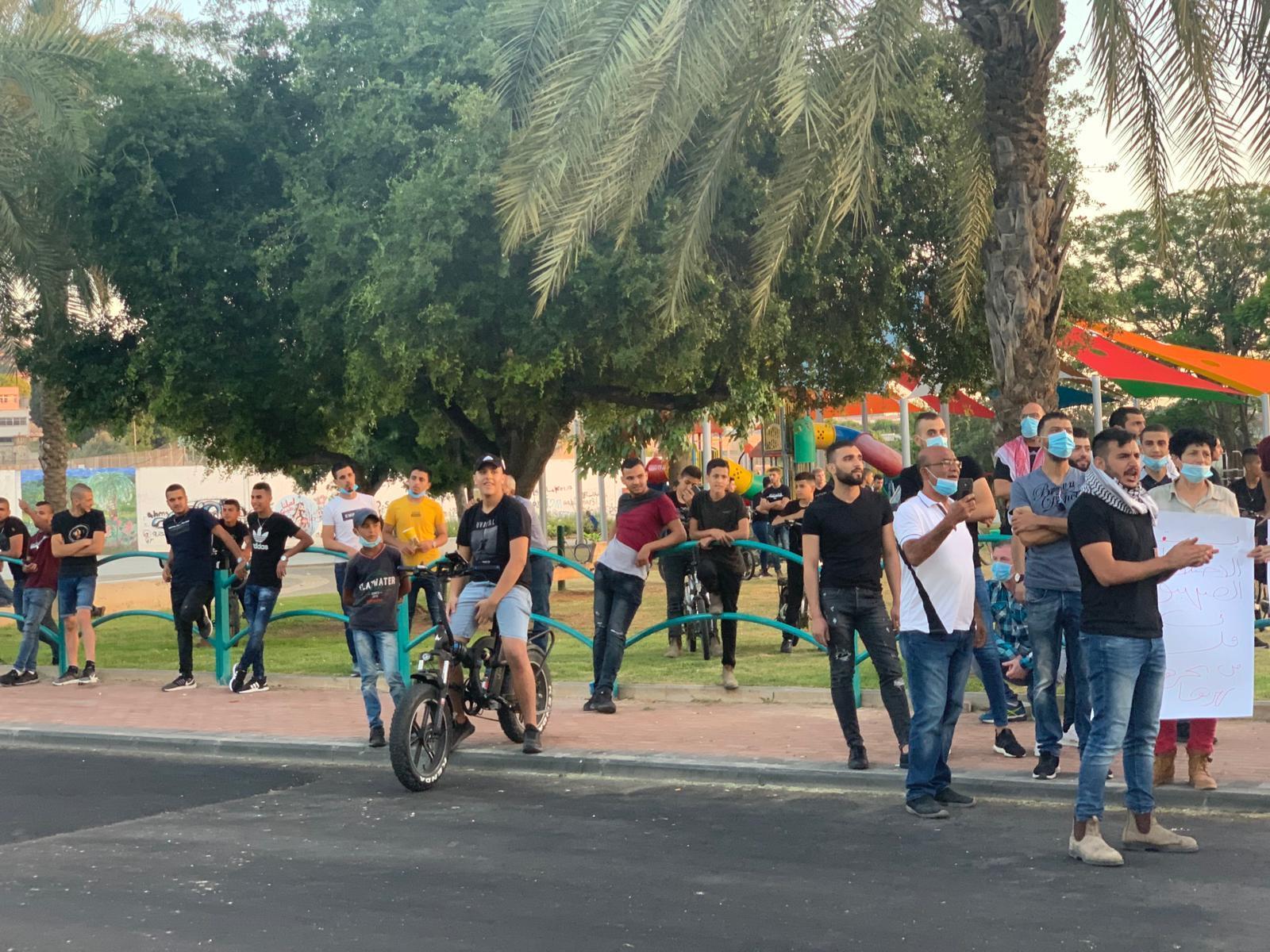 وادي عارة: وقفة احتجاجية ضدّ مخطط الضمّ واعتقال أحد المتظاهرين