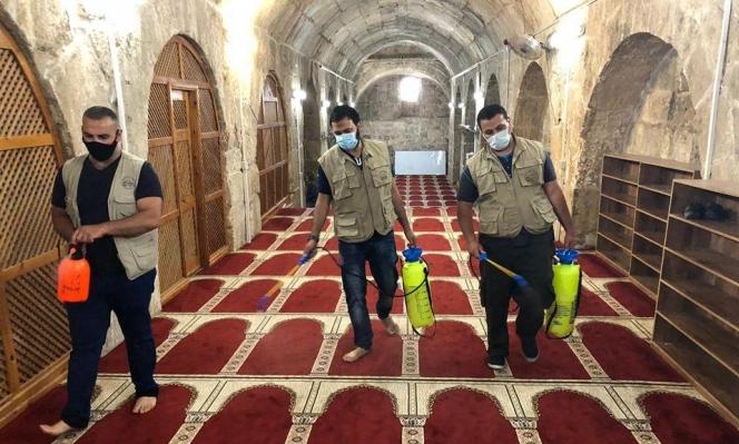 """""""أوقاف القدس"""" تشدد الإجراءات لإقامة الصلوات بالأقصى إثر تفشي كورونا"""