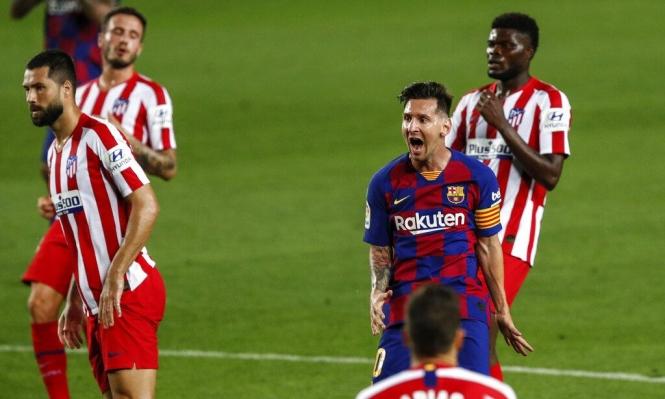 رقم مميز جديد لميسي مع برشلونة
