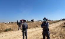تجريف ومصادرة: الشرطة تقتحم خربة الوطن في النقب