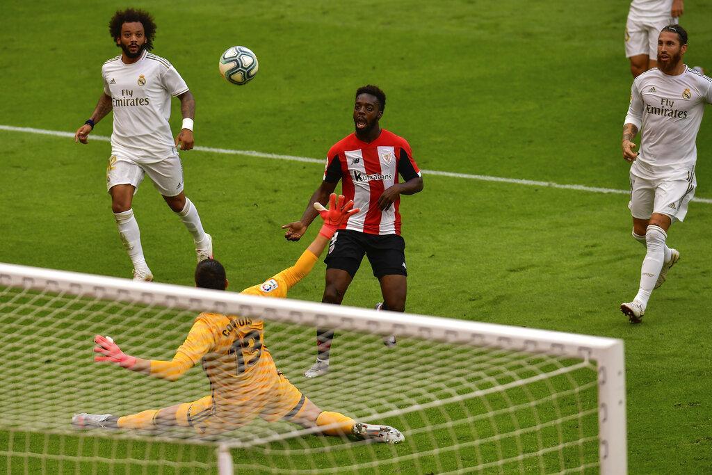 راموس يقود ريال مدريد لتخطي بيلباو
