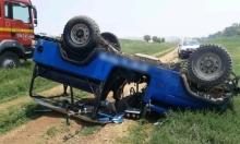 7 إصابات بينها خطيرة في حادث طرق بالجليل