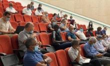 """""""النقب في ظل وباء كورونا"""" محور يوم دراسي للغرفة المشتركة للطوارئ"""