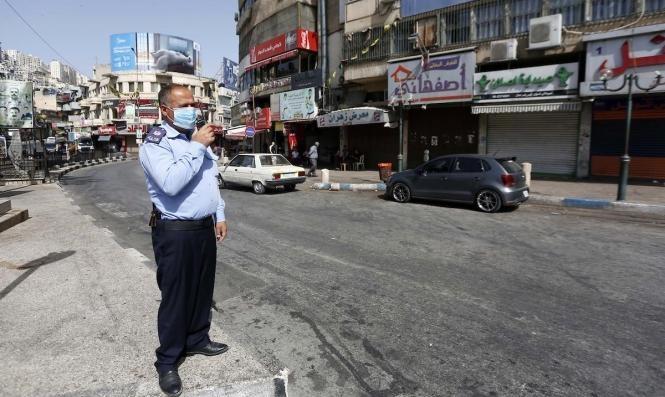 الاحتلال يمنع الأمن الفلسطيني من إقامة حواجز لمواجهة كورونا