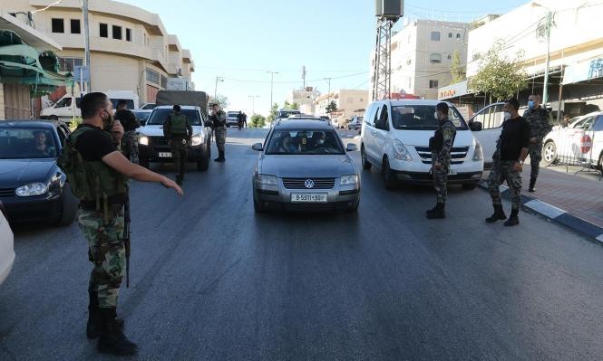 كورونا: تمديد إغلاق الضفة الغربية لمدة خمسة أيام