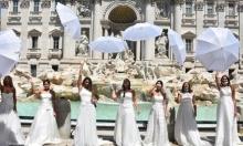 روما: عرائس ينددن بإغلاق قاعات الأفراح بسبب كورونا