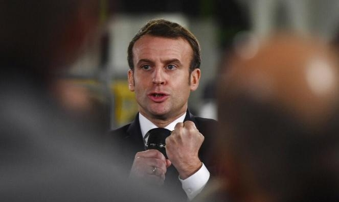 """الرئيس الفرنسي ينضمّ إلى """"تيك توك"""" وينشر أول فيديوهاته"""