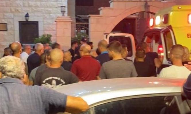دير حنا: إصابات في جريمة إطلاق نار واعتقال 5 مشتبهين