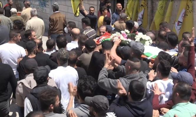 المئات يشيّعون جثمان الشهيد أبو يعقوب في سلفيت