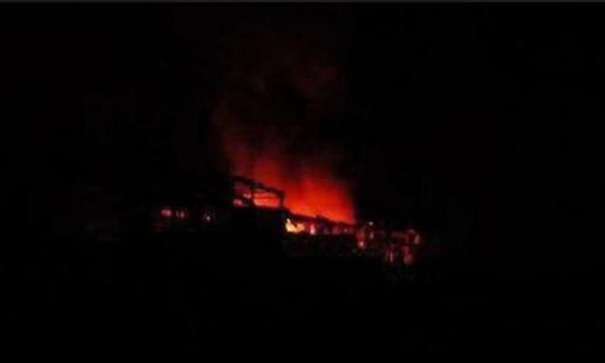 دوي انفجارات في سماء مدينة جبلة في سورية