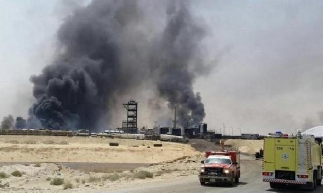 اندلاع حريق في مصنع بتروكيماويات فيإيران