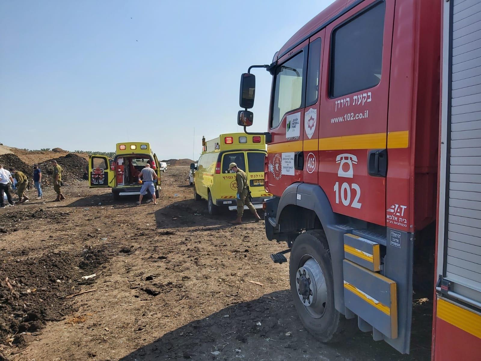 إصابة عامل في حادث دهس بمنطقة الأغوار