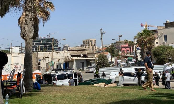 بلدية تل أبيب تستأنف العمل بتجريف مقبرة الإسعاف