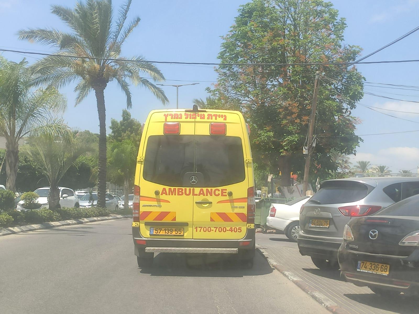 إصابة خطيرة لمسن في حادث دهس بطمرة