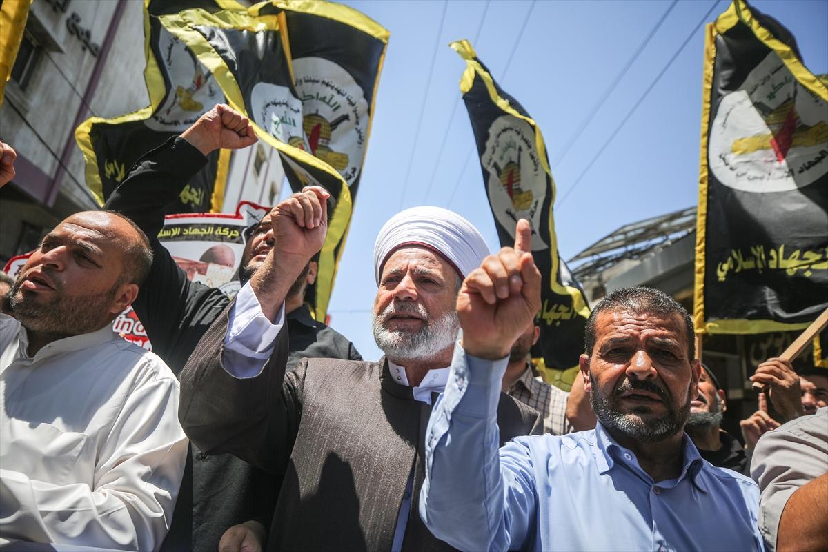 غزة: مسيرة رافضة لممارسات الاحتلال في القدس