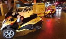 النقب: إصابة خطيرة في حادث دهس لرجل خمسيني