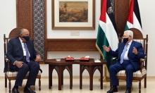 عباس يلتقي شكري في رام الله