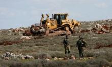 تجريف أراضي مواطنين قرب بيت لحم لتوسيع إحدى المستوطنات